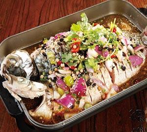 老渔翁烤全鱼