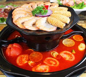 麻辣西施涮烤锅